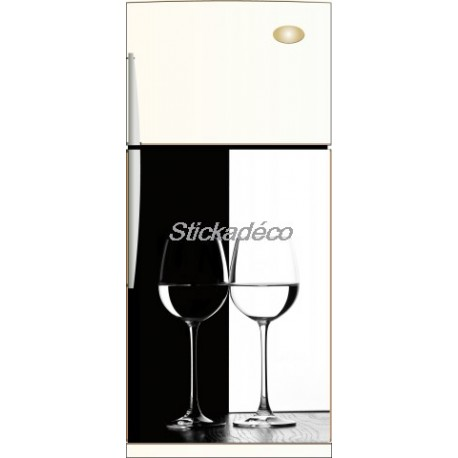 Sticker frigidaire Black&White