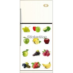 Sticker frigidaire Multifruits