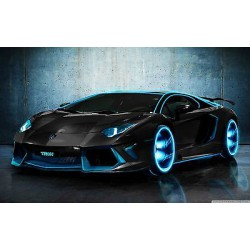 Sticker autocollant auto voiture The aventador A254