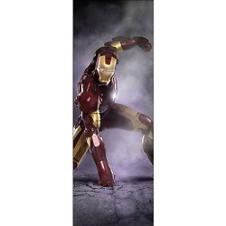 Sticker enfant porte Iron man réf 719