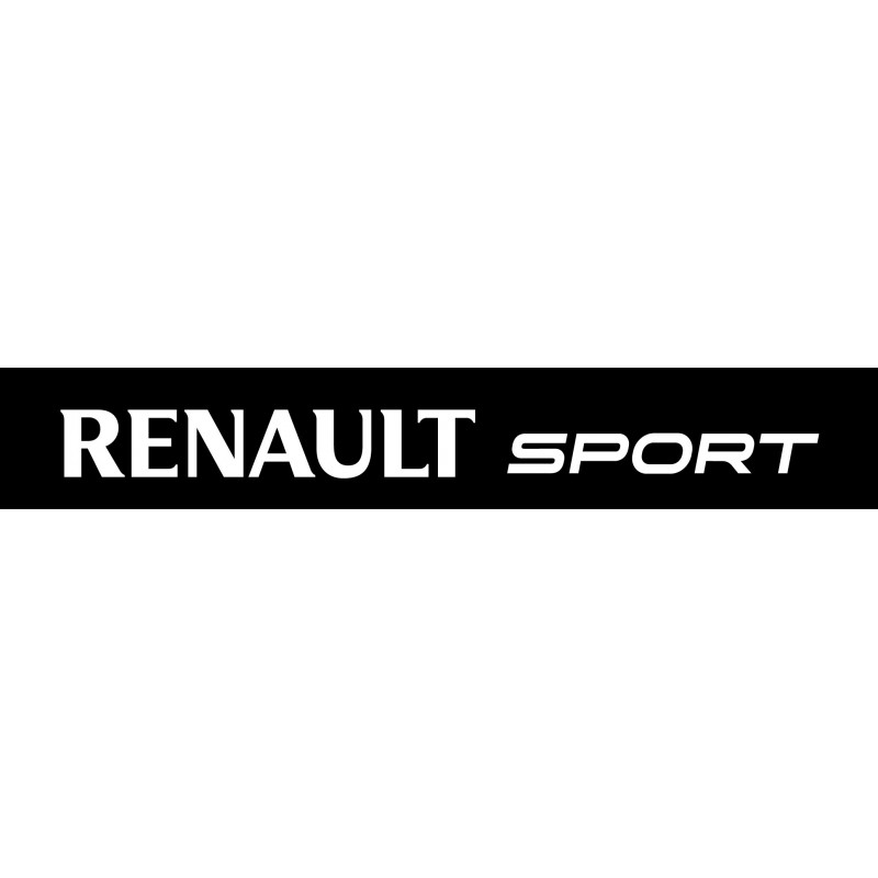 sticker pare soleil renault sport stickers muraux deco. Black Bedroom Furniture Sets. Home Design Ideas