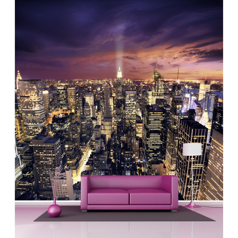 papier peint grand format new york 2 6x2 7 m stickers muraux deco. Black Bedroom Furniture Sets. Home Design Ideas