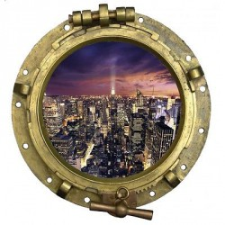 Stickers muraux new york de d coration int rieur for Decoration murale vue sur new york