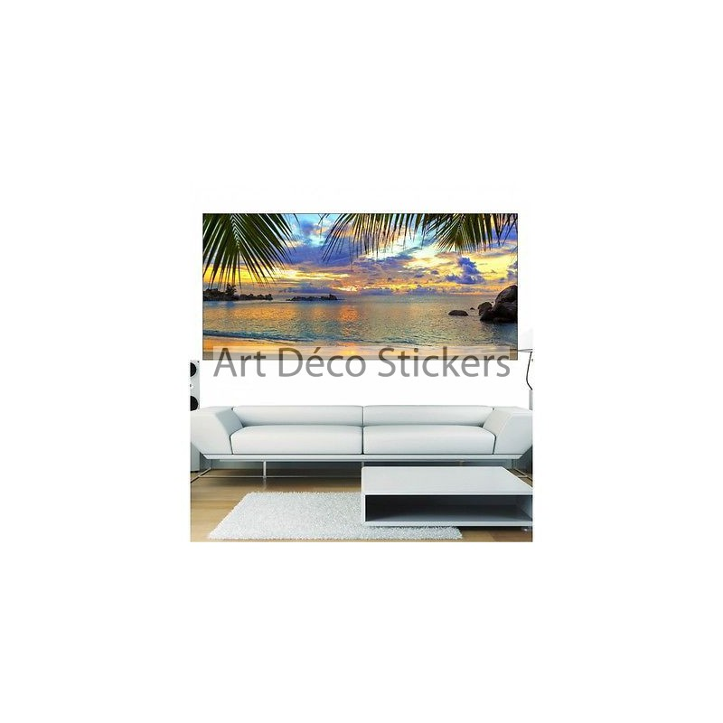 papier peint panoramique tropiques 3636 stickers muraux deco. Black Bedroom Furniture Sets. Home Design Ideas