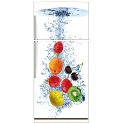 Sticker frigo déco fruits rf 525