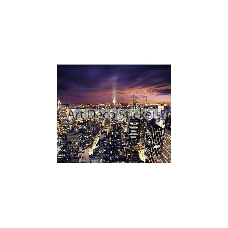 Sticker g ant new york 2 60 x 3 m tres 6000 stickers muraux deco - Sticker geant new york ...