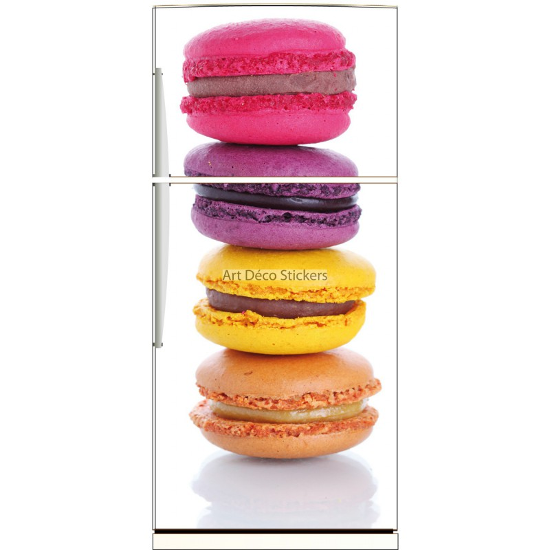 magnet frigo macarons r f 541 stickers muraux deco. Black Bedroom Furniture Sets. Home Design Ideas