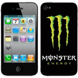 Sticker Autocollant Iphone4 Monster Energy