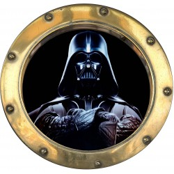 Sticker hublot enfant Star Wars Dark Vador 9555