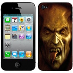 Sticker Autocollant Iphone4 Diable