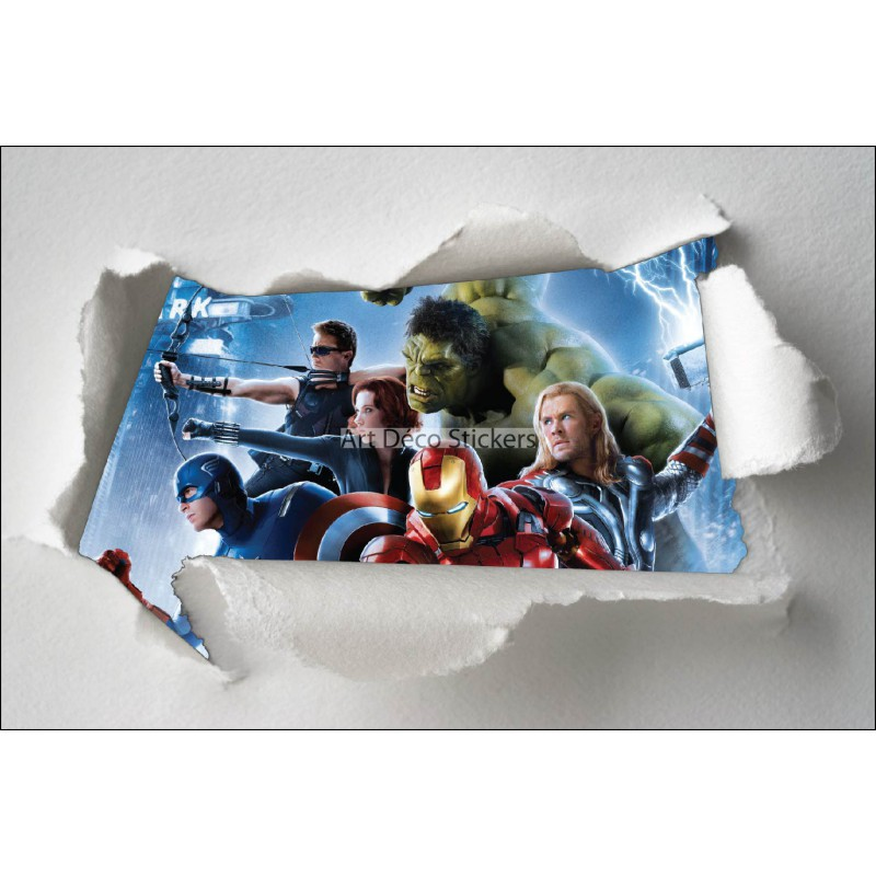 papier peint mural avengers beautiful walltastic avengers. Black Bedroom Furniture Sets. Home Design Ideas