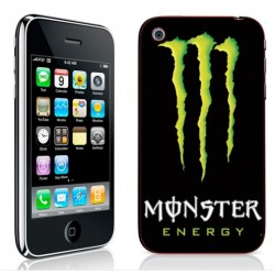 Sticker Autocollant Iphone 3G, 3Gs Monster Energy
