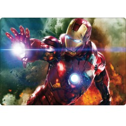 Sticker PC ordinateur portable Iron Man réf 16217