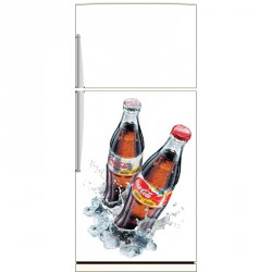 Sticker frigo, sticker frigidaire Coca Cola réf 1852