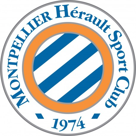 Sticker autocollant foot Montpellier MHSC