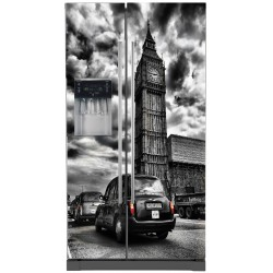 Sticker frigo américain Big Ben