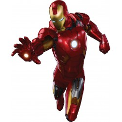 Sticker enfant Iron man avengers géant 3105