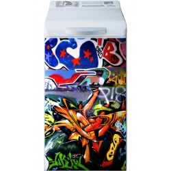 Sticker Lave Linge Graffitis