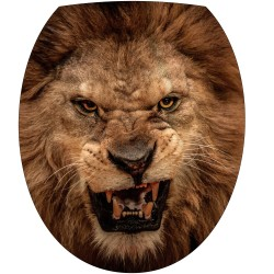 Sticker pour abattant de WC Lion