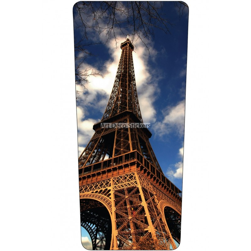stickers poubelle d co tour eiffel stickers muraux deco. Black Bedroom Furniture Sets. Home Design Ideas