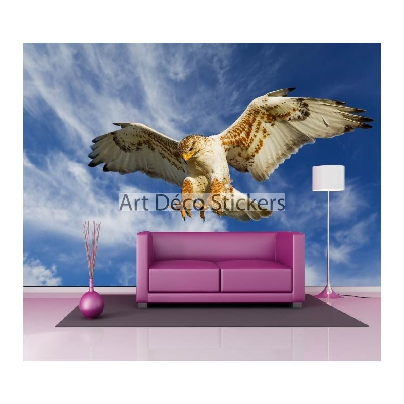 stickers muraux g ant d co aigle royal stickers muraux. Black Bedroom Furniture Sets. Home Design Ideas