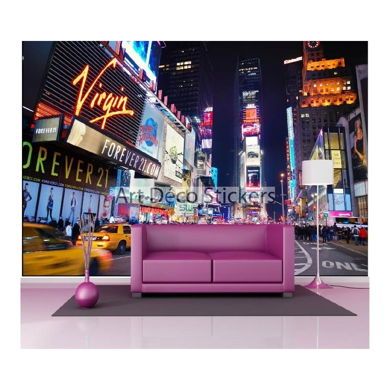 stickers muraux g ant d co taxis new york stickers muraux deco. Black Bedroom Furniture Sets. Home Design Ideas