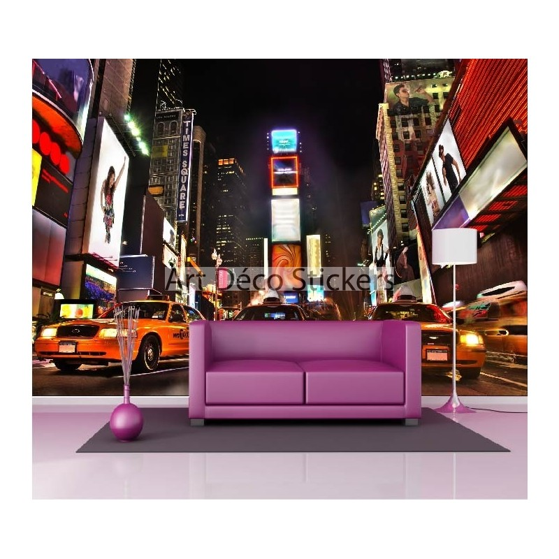 stickers muraux g ant d co taxi jaune new york stickers muraux deco. Black Bedroom Furniture Sets. Home Design Ideas