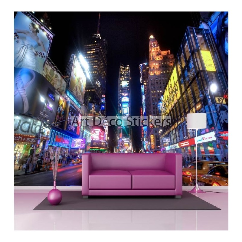 stickers muraux g ant d co new york stickers muraux deco. Black Bedroom Furniture Sets. Home Design Ideas