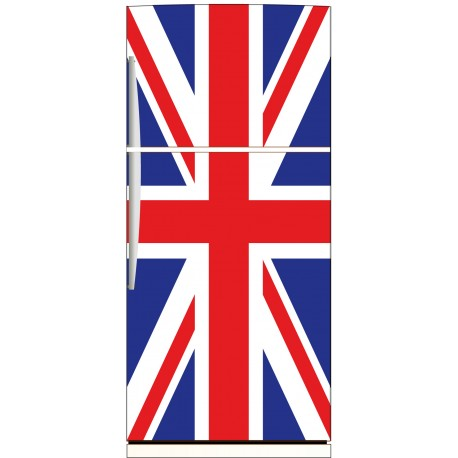 sticker frigo d co cuisine drapeau anglais stickers muraux deco. Black Bedroom Furniture Sets. Home Design Ideas