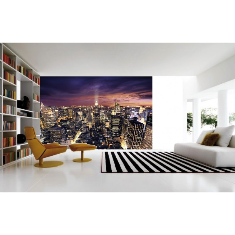 Sticker mural g ant new york 2 60 x 3 m tres - Stickers geant new york ...