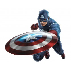 Sticker Capitain América Avengers