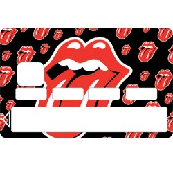 Stickers Autocollant Carte bancaire - Skin - CB Rolling Stone