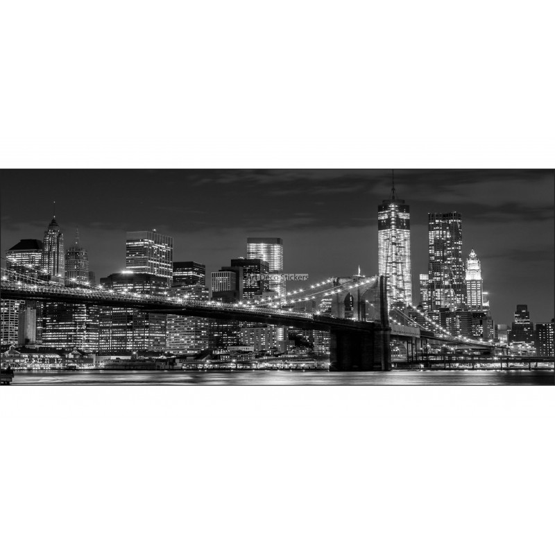 Brise vue jardin terrasse balcon d co new york stickers muraux deco - Jardin terrasse new york ...