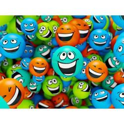 Stickers autocollant ou Affiche poster Smiley Sourire DI_00068
