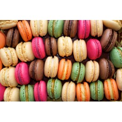 Stickers autocollant ou Affiche poster Multi- Macarons FLC_00002