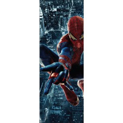 Sticker de porte enfant Spiderman réf 717