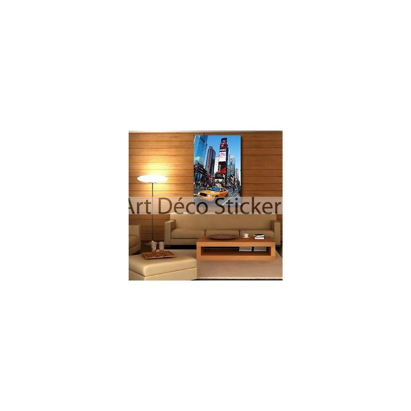 Tableaux toile d co taxi new york 65477374 stickers - Tableau deco new york ...