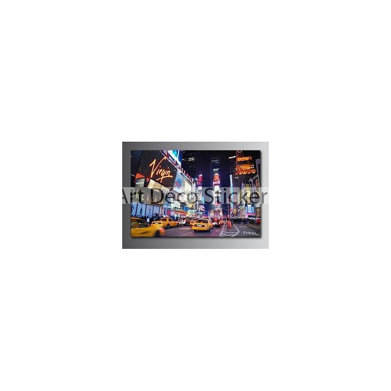 Tableaux toile d co taxi new york 55695934 stickers muraux deco - Tableau toile new york ...