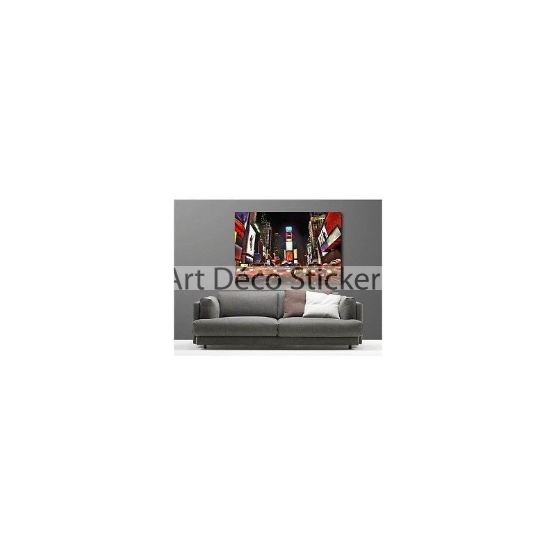 Tableaux toile d co new york taxi 38374108 stickers - Tableau deco new york ...
