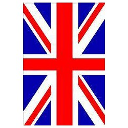 Sticker frigo Union Jack Londres 60x90cm Réf 078