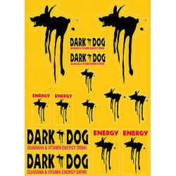 Autocollants stickers Dark Dog