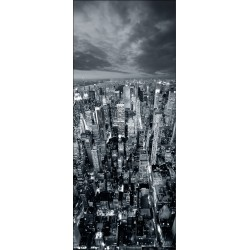 Sticker frigidaire Frigo New York 70x170cm
