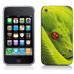 Sticker Autocollant Iphone 4 Serpent