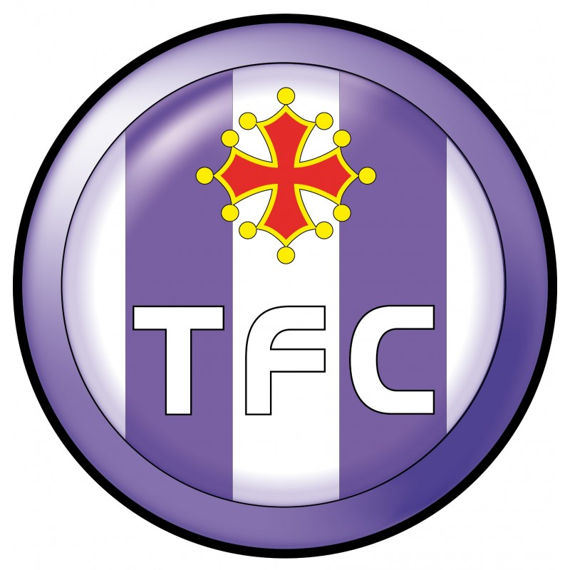 stickers tfc toulouse football club stickers muraux deco. Black Bedroom Furniture Sets. Home Design Ideas